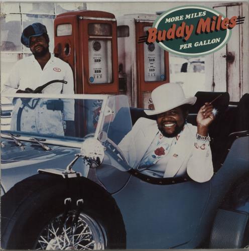 Buddy Miles More Miles Per Gallon vinyl LP album (LP record) US BMELPMO656856