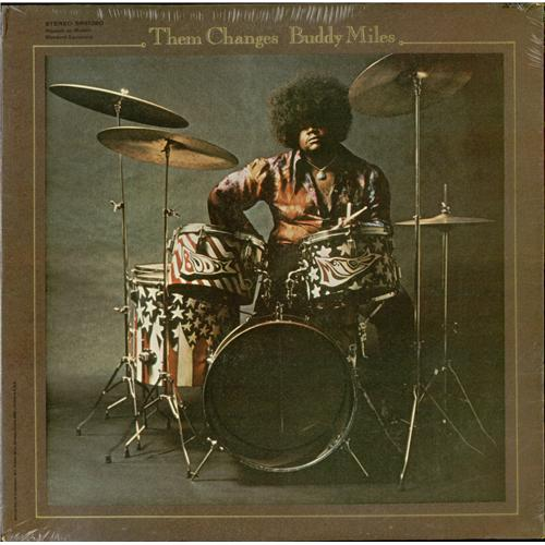 Buddy Miles Them Changes - Sealed vinyl LP album (LP record) US BMELPTH427752