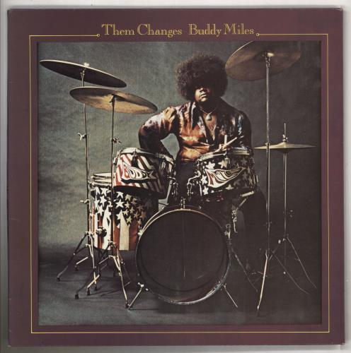 Buddy Miles Them Changes vinyl LP album (LP record) French BMELPTH738887