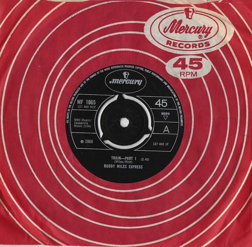 "Buddy Miles Train - 3pr 7"" vinyl single (7 inch record) UK BME07TR478836"