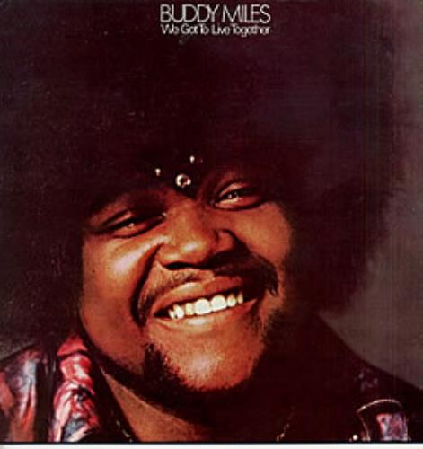 Buddy Miles We Got To Live Together vinyl LP album (LP record) French BMELPWE234845