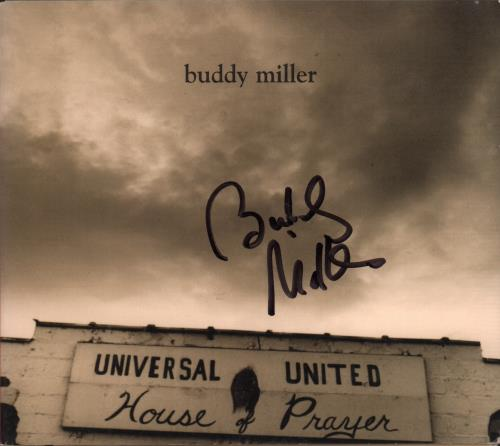 Buddy Miller Universal United House Of Prayer - Autographed CD album (CDLP) US I1YCDUN664767