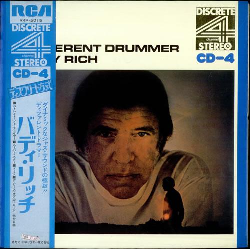 Buddy Rich A Different Drummer - Quad vinyl LP album (LP record) Japanese BU-LPAD508908