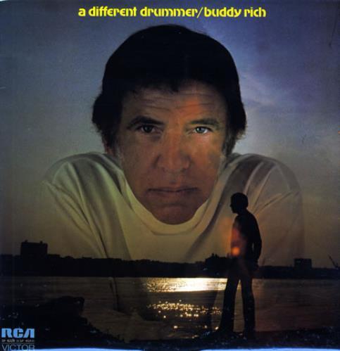 Buddy Rich A Different Drummer vinyl LP album (LP record) UK BU-LPAD363017