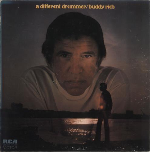 Buddy Rich A Different Drummer vinyl LP album (LP record) US BU-LPAD635280