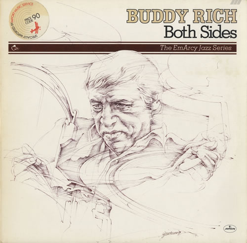 Buddy Rich Both Sides 2-LP vinyl record set (Double Album) Dutch BU-2LBO461958