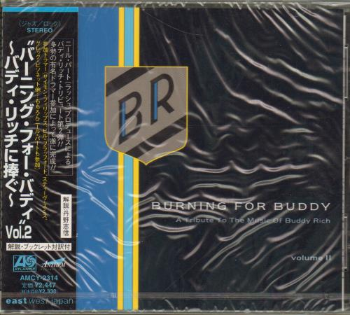 Buddy Rich Burning For Buddy - A Tribute To The Music Of Buddy Rich Volume 2 CD album (CDLP) Japanese BU-CDBU645805