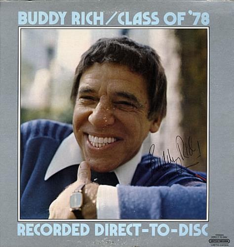 Buddy Rich Class Of '78 vinyl LP album (LP record) US BU-LPCL363216