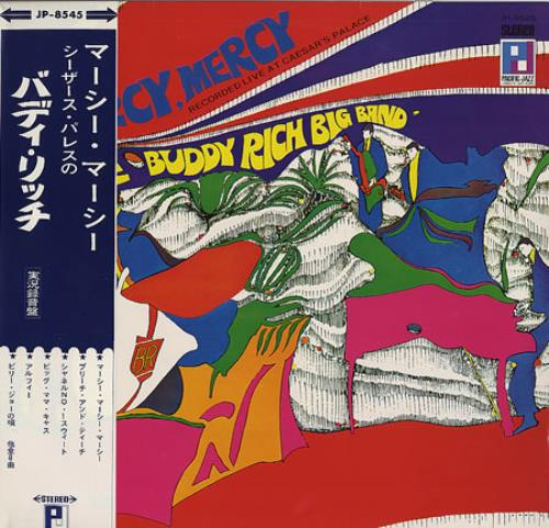 Buddy Rich Mercy Mercy vinyl LP album (LP record) Japanese BU-LPME353962