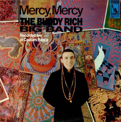 Buddy Rich Mercy Mercy vinyl LP album (LP record) UK BU-LPME470627