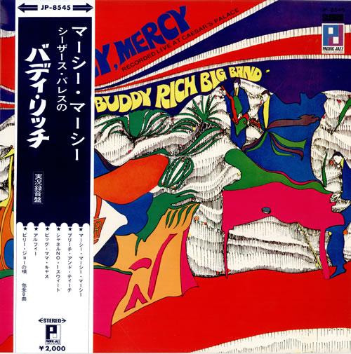 Buddy Rich Mercy, Mercy - Red Vinyl vinyl LP album (LP record) Japanese BU-LPME482327