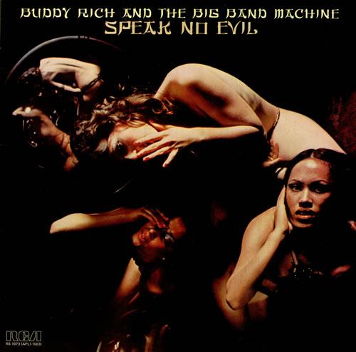 Buddy Rich Speak No Evil vinyl LP album (LP record) UK BU-LPSP458633