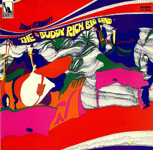 Buddy Rich Take It Away - Mono vinyl LP album (LP record) UK BU-LPTA468248
