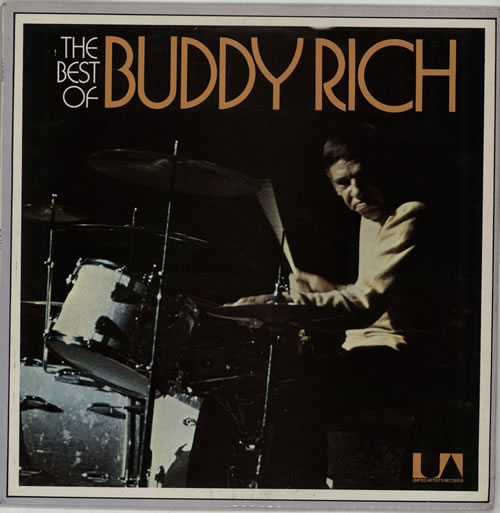 Buddy Rich The Best Of Buddy Rich vinyl LP album (LP record) UK BU-LPTH607888