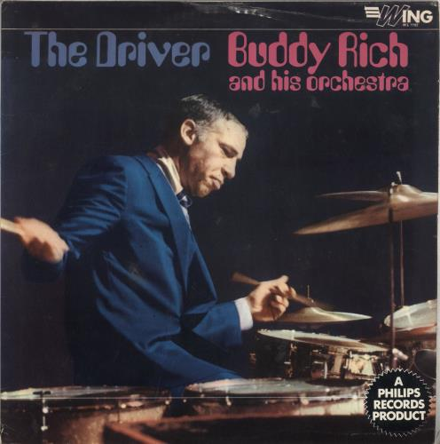 Buddy Rich The Driver Uk Vinyl Lp Album Lp Record 470841