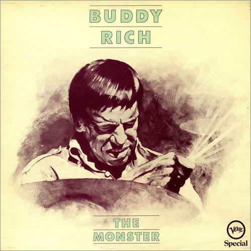 Buddy Rich The Monster vinyl LP album (LP record) UK BU-LPTH496135