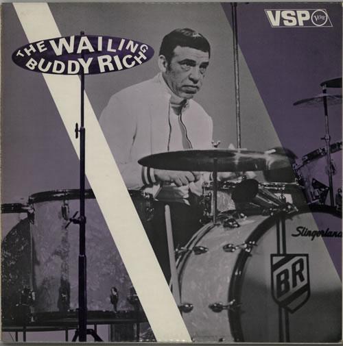 Buddy Rich The Wailing 2-LP vinyl record set (Double Album) UK BU-2LTH628918