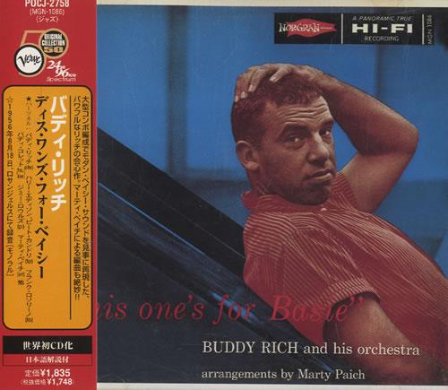 Buddy Rich This One's For Basie CD album (CDLP) Japanese BU-CDTH453249