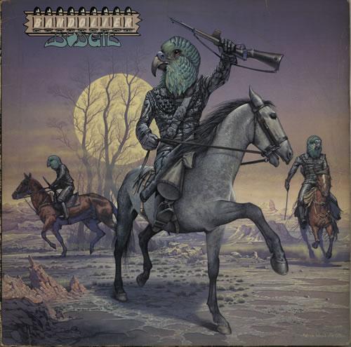Budgie Bandolier - EX vinyl LP album (LP record) UK BUDLPBA579938