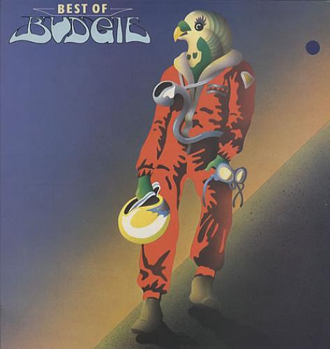 Budgie Best Of Budgie - Laminated sleeve vinyl LP album (LP record) UK BUDLPBE278622