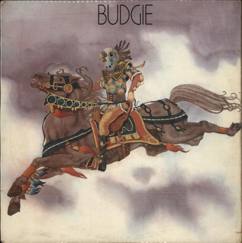 Budgie Budgie - 1st - G vinyl LP album (LP record) UK BUDLPBU766547