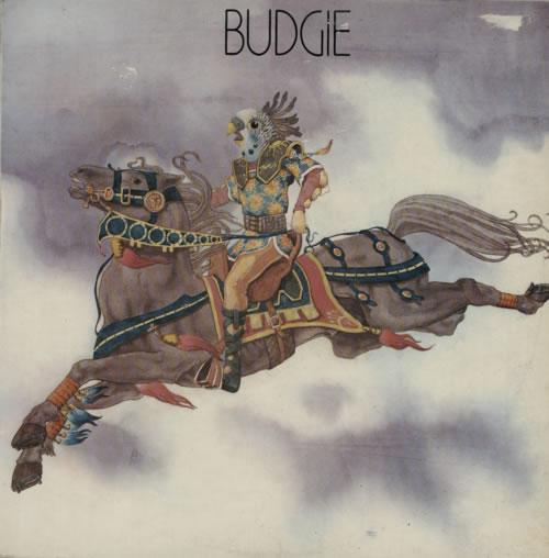 Budgie Budgie - 1st - VG vinyl LP album (LP record) UK BUDLPBU597076