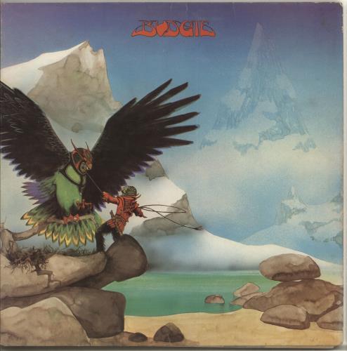 Budgie Never Turn Your Back On A Friend - 1st - VG vinyl LP album (LP record) UK BUDLPNE633435