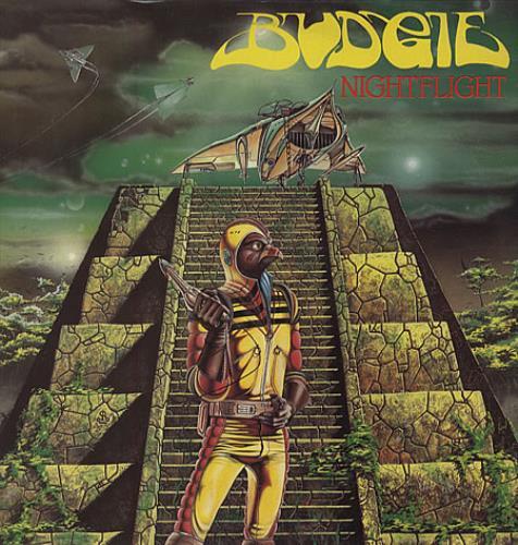 Budgie Nightflight - EX vinyl LP album (LP record) UK BUDLPNI337563