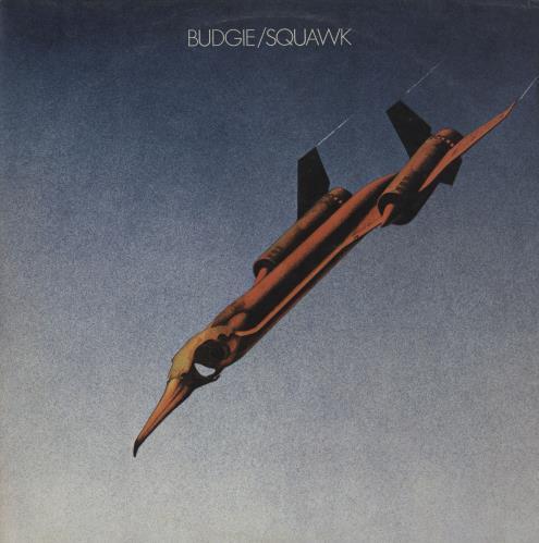 Budgie Squawk - 1st - Export vinyl LP album (LP record) UK BUDLPSQ758964