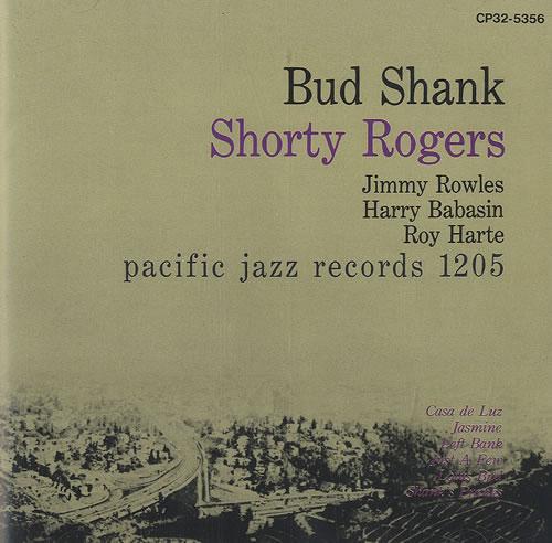 Bud Shank Bud Shank Quintets CD album (CDLP) Japanese BU5CDBU492414