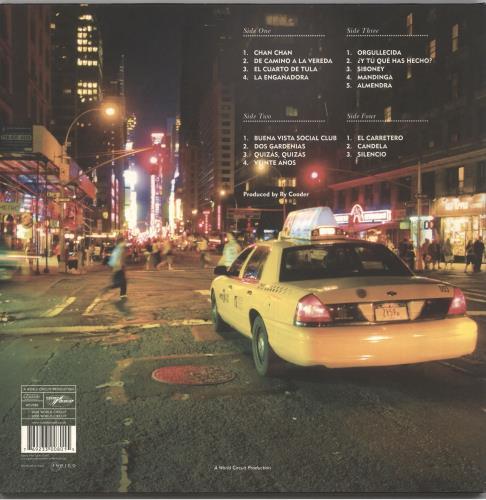 Buena Vista Social Club At Carnegie Hall 2-LP vinyl record set (Double Album) UK BVI2LAT726601