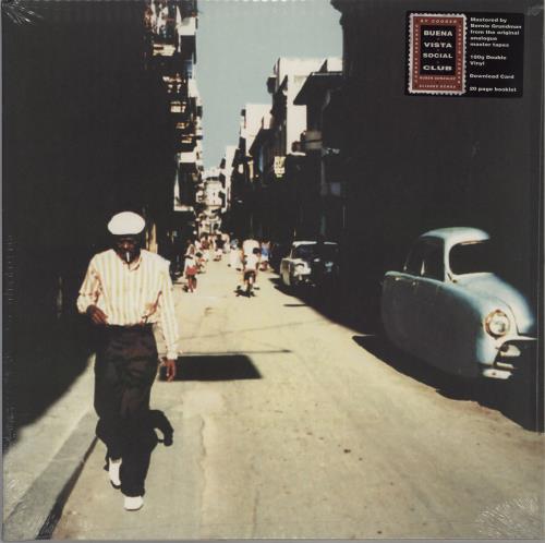 Buena Vista Social Club Buena Vista Social Club - 180 Gram - Sealed 2-LP vinyl record set (Double Album) UK BVI2LBU755764