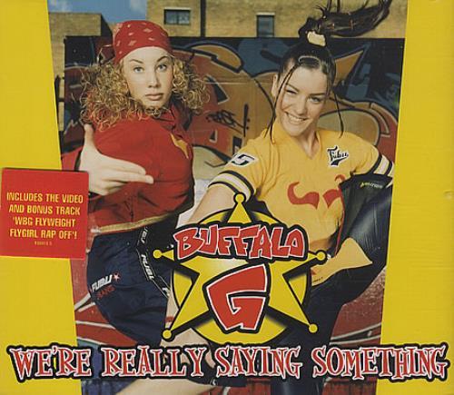 BUFFALO G We're Really Saying Something 2-CD single set (Double CD single) UK BOG2SWE157766