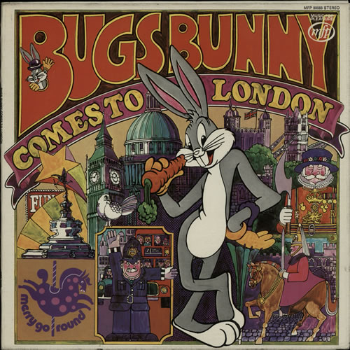 Bugs Bunny Bugs Bunny Comes To London vinyl LP album (LP record) UK H7HLPBU641562