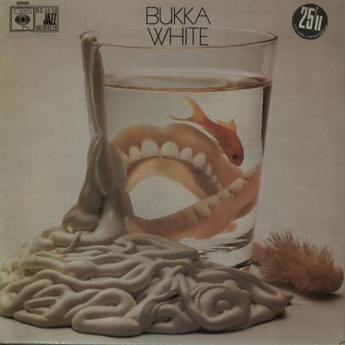 Bukka White Bukka White vinyl LP album (LP record) UK BUWLPBU528491