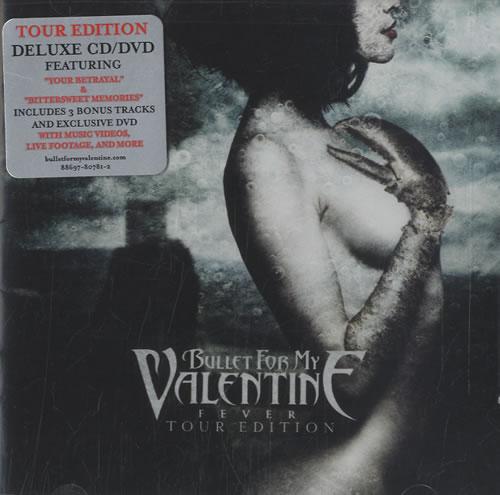 Bullet For My Valentine Fever   Tour Edition 2 Disc CD/DVD Set US