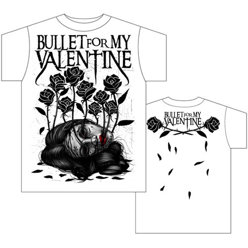 Bullet For My Valentine Garden Large Uk T Shirt 424697
