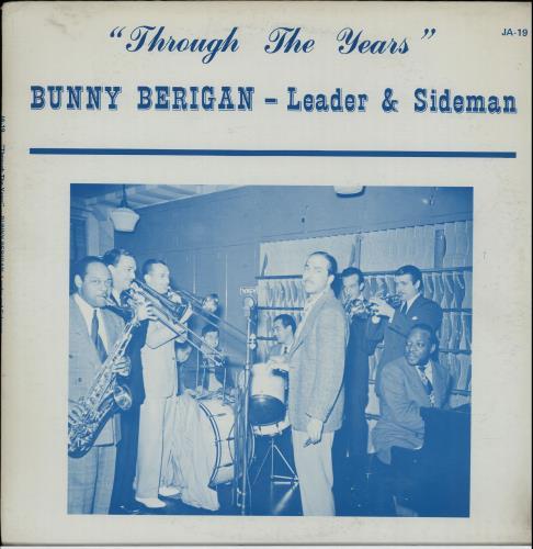 "Bunny Berigan ""Down By The Old Mill Stream"" Bunny In The 30's vinyl LP album (LP record) US 5BBLPDO643394"