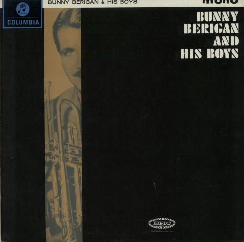 Bunny Berigan Bunny Berigan And His Boys vinyl LP album (LP record) UK 5BBLPBU650026