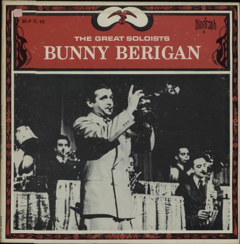 Bunny Berigan The Great Soloists vinyl LP album (LP record) US 5BBLPTH672779