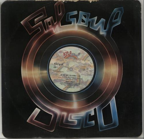 """Bunny Sigler By The Way You Dance 12"""" vinyl single (12 inch record / Maxi-single) UK BNX12BY650033"""