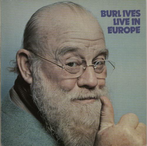 Burl Ives Live In Europe Norwegian Vinyl Lp Album Lp