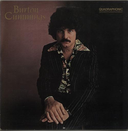 Burton Cummings Burton Cummings - Quad - Gold promo stamped vinyl LP album (LP record) UK F3RLPBU638220