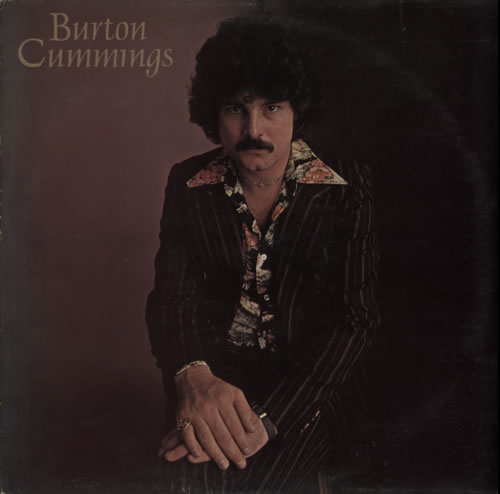 Burton Cummings Burton Cummings vinyl LP album (LP record) UK F3RLPBU611400