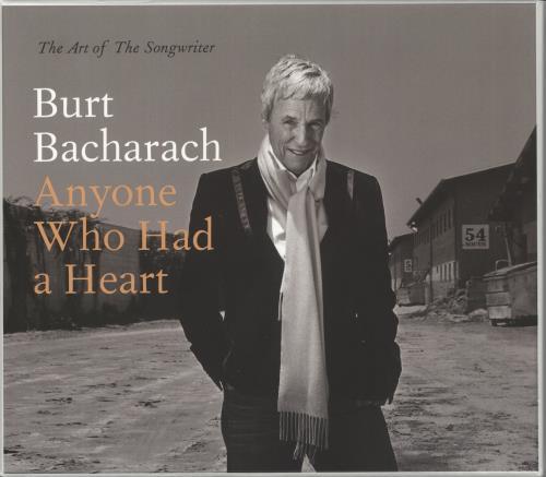Burt Bacharach Anyone Who Had A Heart - The Art Of The Songwriter CD Album Box Set UK BAHDXAN724085
