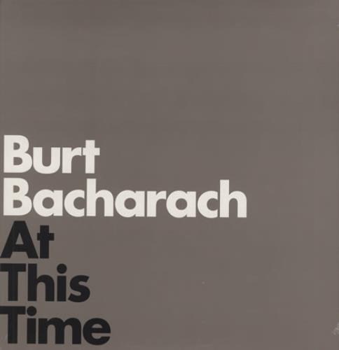 Burt Bacharach At This Time vinyl LP album (LP record) US BAHLPAT364423