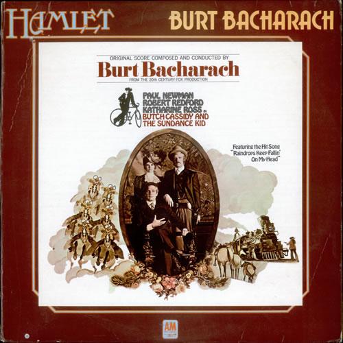 Burt Bacharach Butch Cassidy And The Sundance Kid vinyl LP album (LP record) UK BAHLPBU522574
