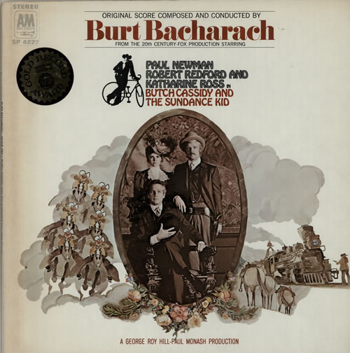 Burt Bacharach Butch Cassidy And The Sundance Kid vinyl LP album (LP record) US BAHLPBU584737