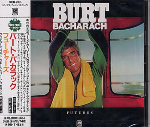 Burt Bacharach Futures CD album (CDLP) Japanese BAHCDFU320960