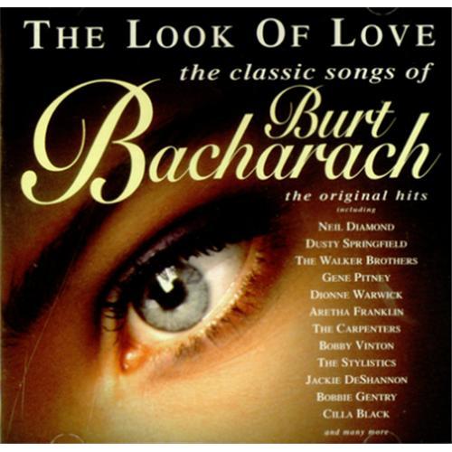 Burt Bacharach The Look Of Love CD album (CDLP) UK BAHCDTH425070